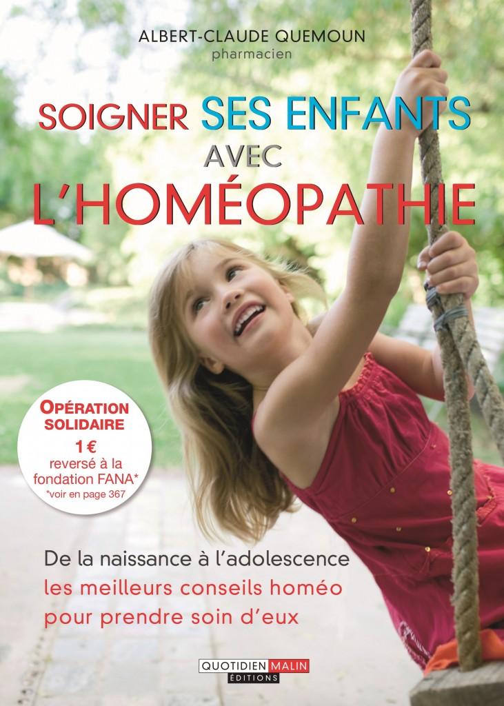 Soigner ses enfants avec l'homéopathie.indd